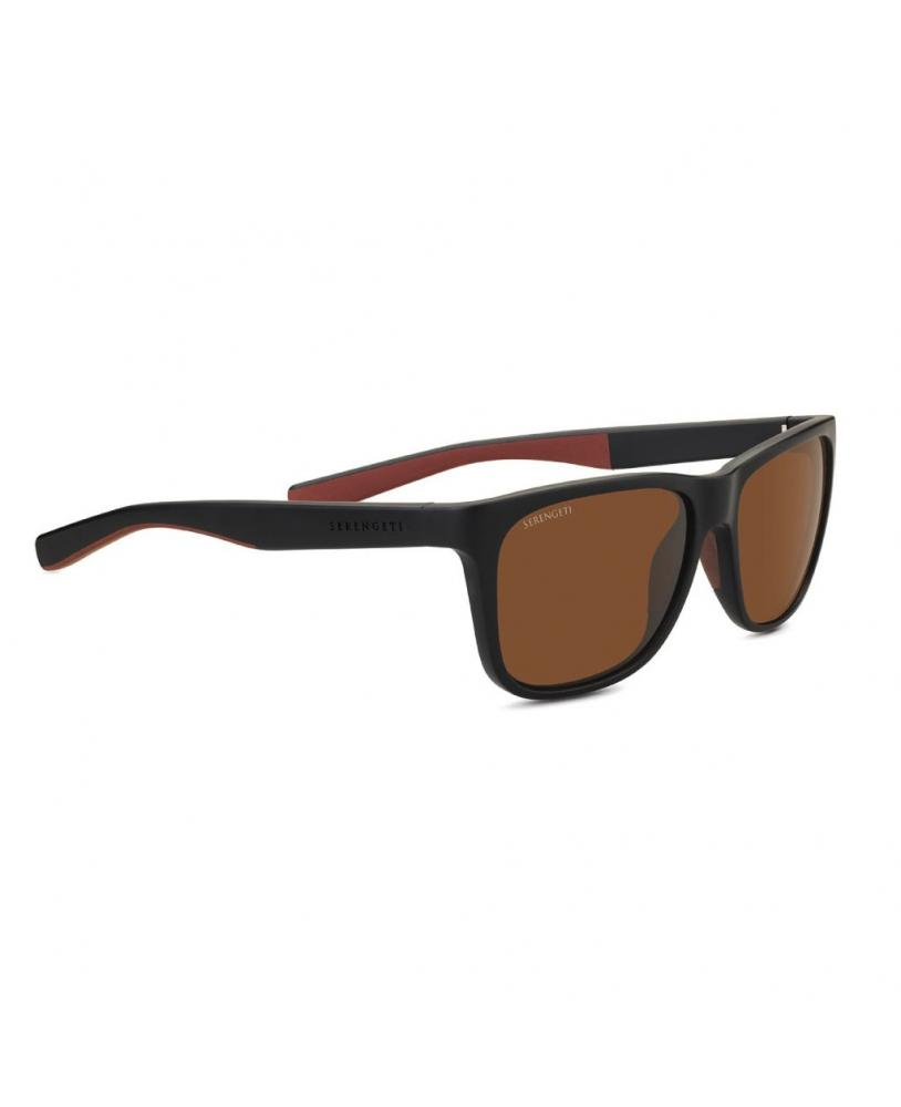 Gafas de sol Serengeti LIVIO Black Brown