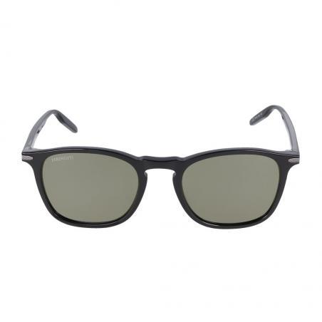 Gafas de sol Serengeti DELIO Shiny Black frontal
