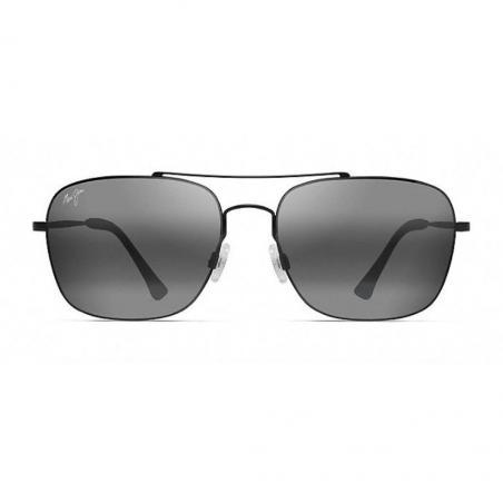 Gafas de sol Maui Jim LAVA TUBE NEGRO MATE frontal
