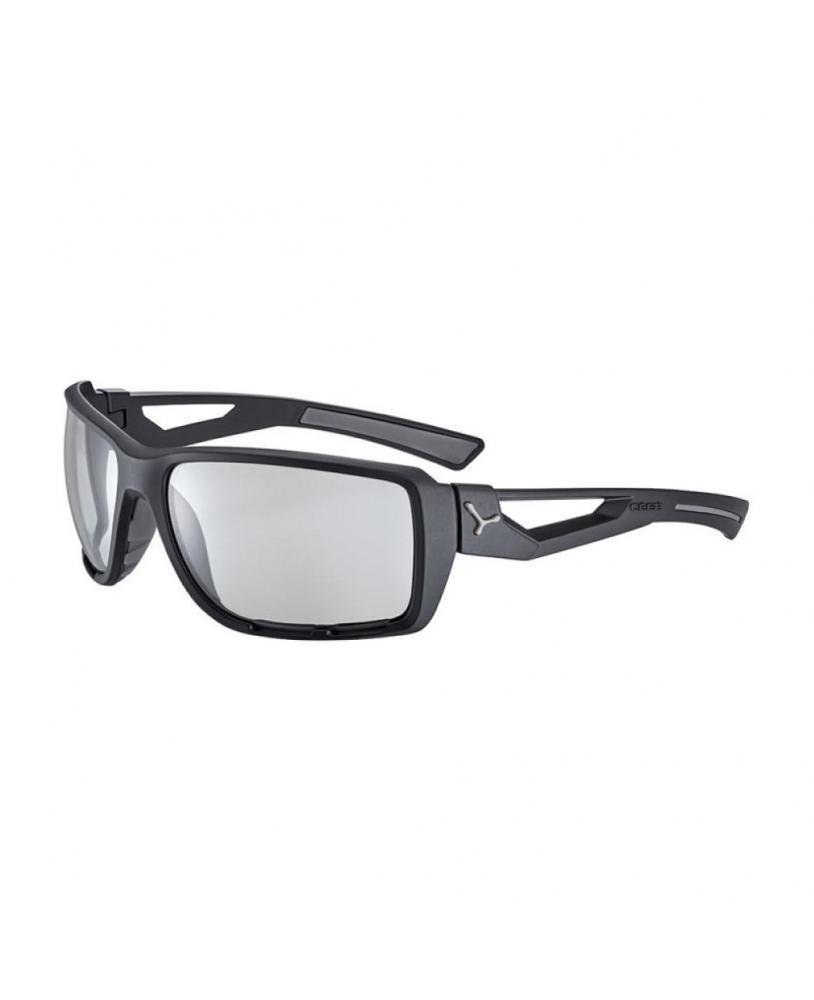 Gafas de sol Cébé SHORTCUT Negro Gris Mate
