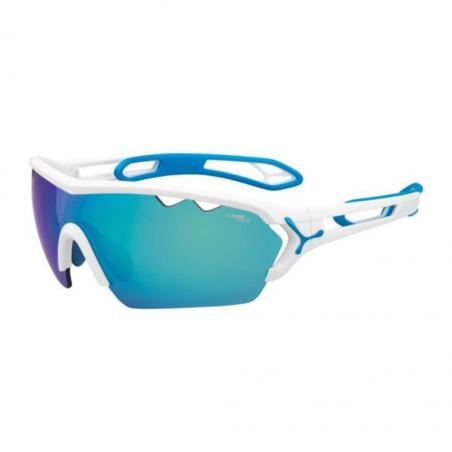 Gafas de sol Cébé S´TRACK MONO L Blanco Azul