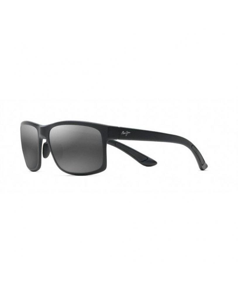 Gafas polarizadas Maui Jim POKOWAI ARCH NEGRO MATE lateral