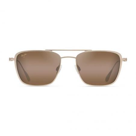 Gafas polarizadas Gafas de sol Maui Jim EBB & FLOW DORADO MATE frontal