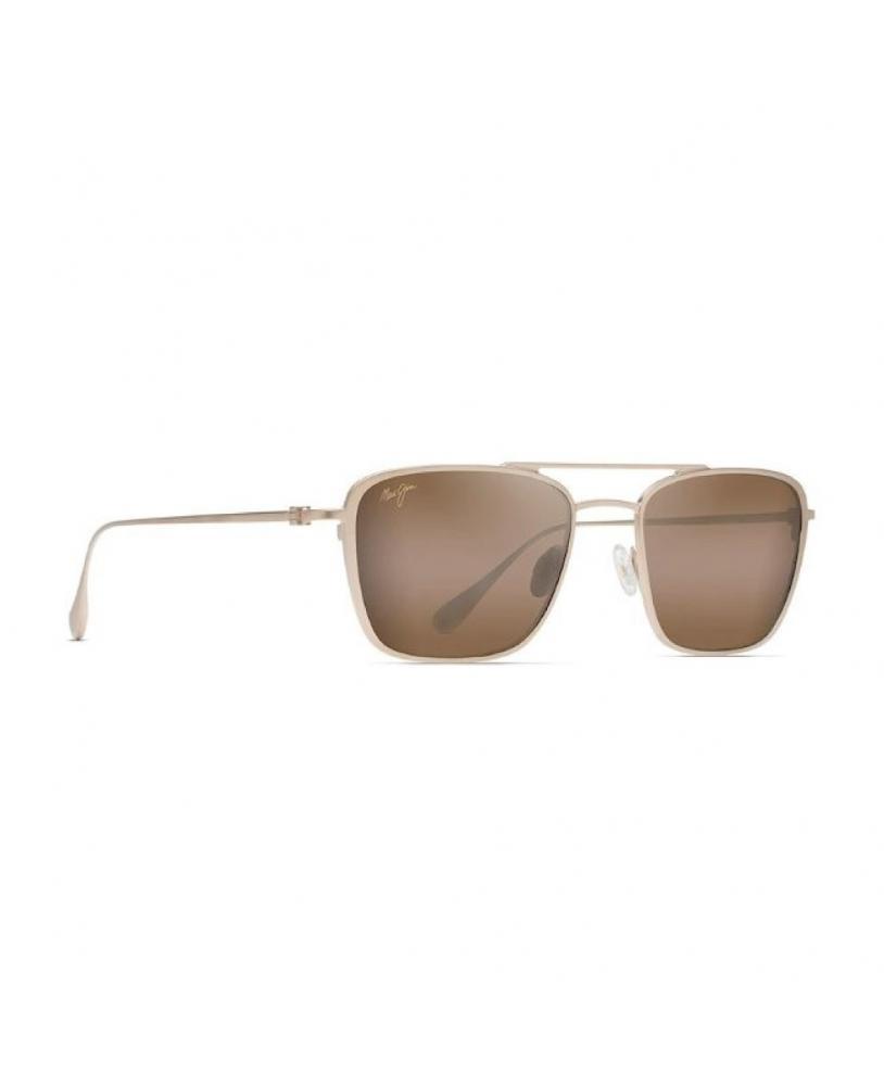 Gafas polarizadas Gafas de sol Maui Jim EBB & FLOW DORADO MATE lateral