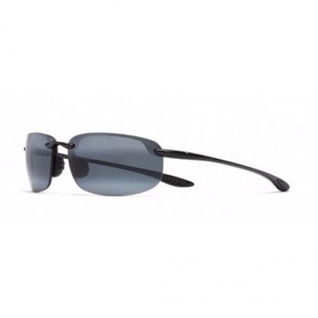 Gafas polarizadas Maui Jim HOOKIPA NEGRO BRILLO lateral