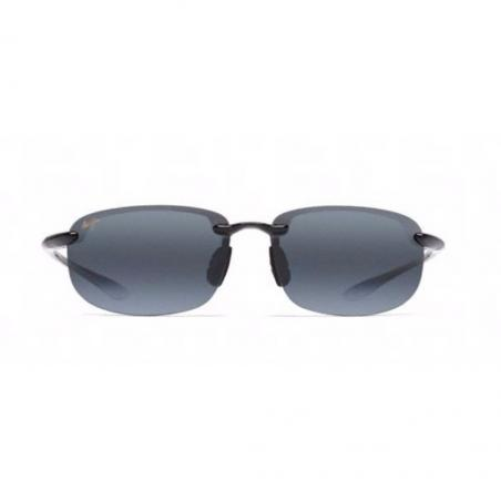 Gafas polarizadas Maui Jim HOOKIPA NEGRO BRILLO frontal
