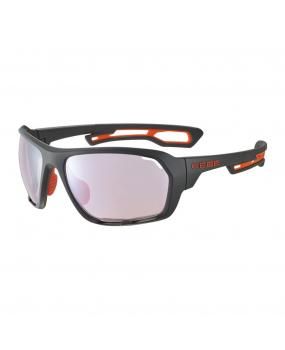 Gafas deportivas fotocromáticas Cébé UPSHIFT Matt Grey Orange