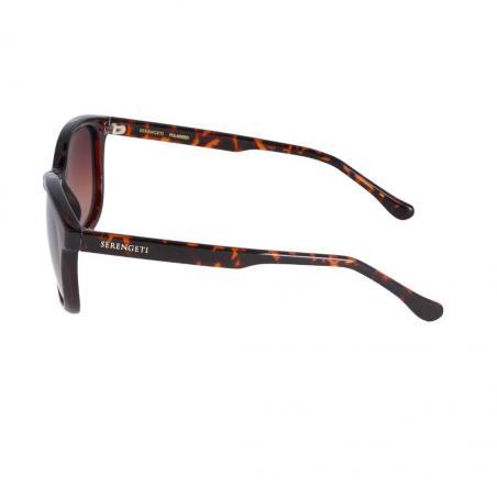 Gafas de sol de mujer Serengeti MARA CAREY BRILLO lateral