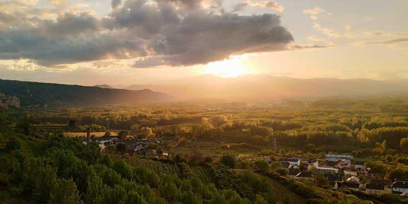 El Bierzo, paraíso natural para una escapada rural deportiva.