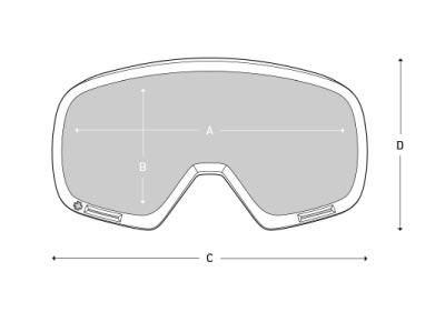 medidas gafas nieve