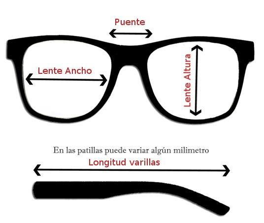 Medidas Gafas Sol